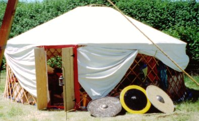 The air-conditioned yurt